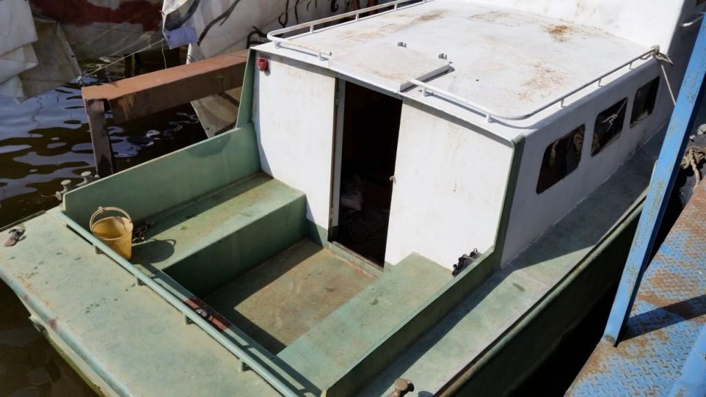 купить стальной корпус лодки