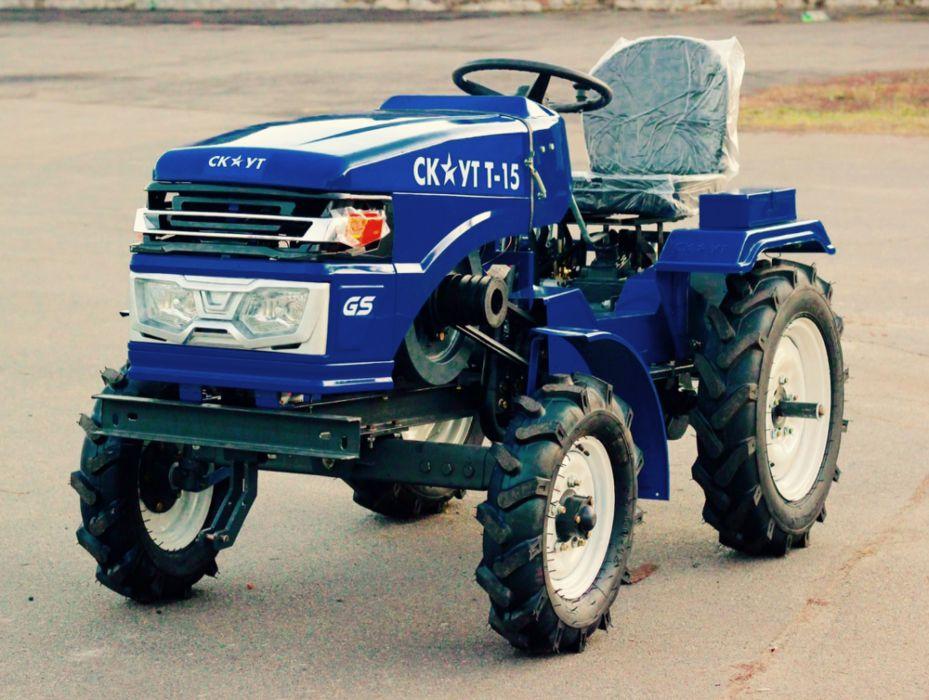 Minitraktor-Skaut-T-15-3
