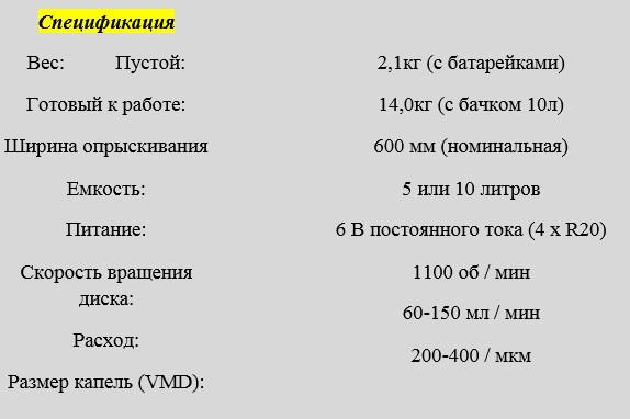 Opryskivatel-ruchnoj-dlya-borby-s-sornyakami-MICRON-Herbidome-600-spetsifikatsiya